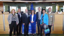 2. Foto Besuch Brssel mit ALDE-Fraktion