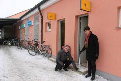Besuch Bahnhof Weilheim am 19.01.17