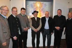 Segnung einer Krippe am 02.12.16 Werdenfels Museum
