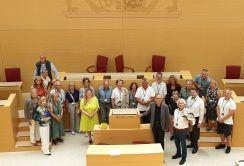 Streibl Besuchergruppe Garmisch-Partenkirchen01 2