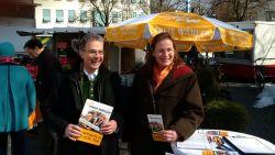 TTIP-Stand in Holzkirchen 19.03.16